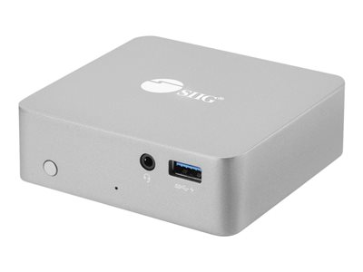 SIIG USB-C Mini Docking Station with PD Docking station USB-C HDMI 60 Watt