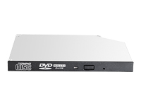 HPE - Disk drive - DVD-ROM - Serial ATA - internal - HP jack black - for ProLiant DL20 Gen10, DL360 Gen10, DL380 Gen10, MicroServer Gen10, ML30 Gen10, ML350 Gen10