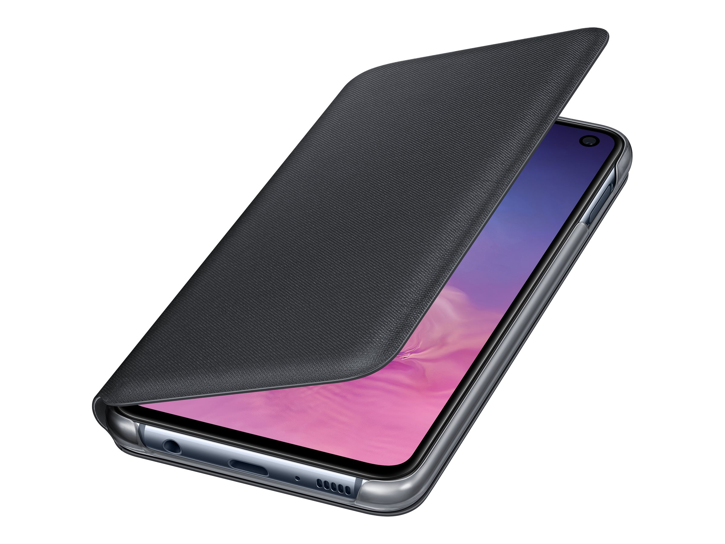 Samsung LED Wallet Cover EF-NG970 - flip cover for cell phone