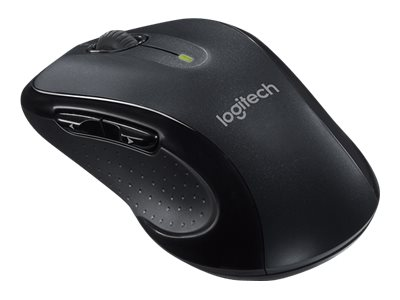 Logitech M510 Mouse right-handed laser 7 buttons wireless 2.4 GHz