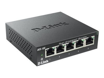 D-Link DES 105 Switch 5-porte 10/100
