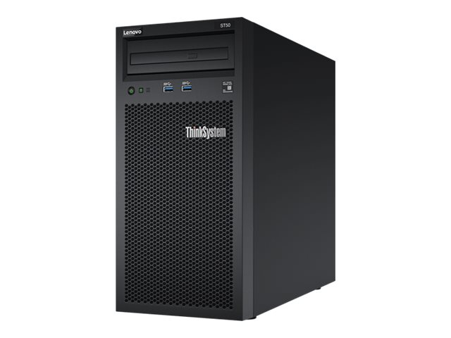 Lenovo ThinkSystem ST50 - tour - Xeon E-2124G 3.4 GHz - 8 Go - 4 To