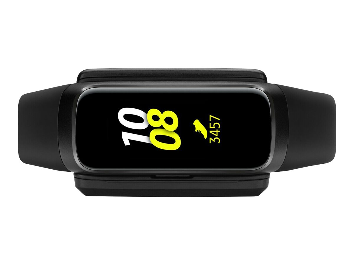Samsung Galaxy Fit - black - activity tracker with strap - black - 32 MB