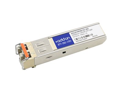 AddOn Avaya AA1419038-E5 Compatible SFP Transceiver - SFP (mini-GBIC) transceiver module - GigE