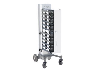 PowerGistics MobileX12 Cart (charge only) for Apple iPad lockable screen size: up to 14.8INCH