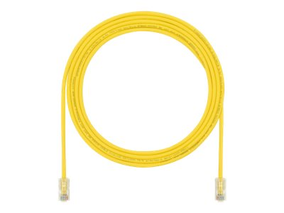 Panduit TX5e-28 patch cable - 2.74 m - yellow