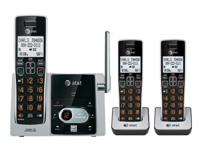 AT&T CL82313 Cordless phone answering system with caller ID/call waiting