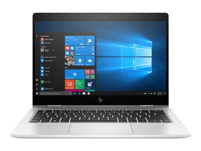 "HP EliteBook x360 830 G5 - Conception inclinable - Core i5 8250U / 1.6 GHz - Win 10 Pro 64 bits - 16 Go RAM - 512 Go SSD NVMe, TLC - 13.3"" IPS écran tactile 1920 x 1080 (Full HD) - UHD Graphics 620 - Wi-Fi, Bluetooth - clavier : Français"