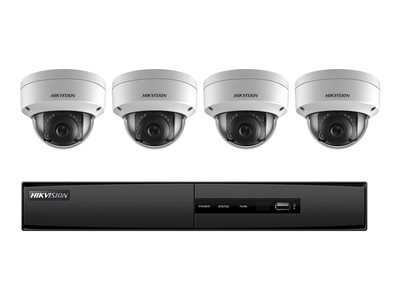 Hikvision I7604N1TA NVR + camera(s) wired LAN 10/100 4 channels 1 x 1 TB 4 camera(s)