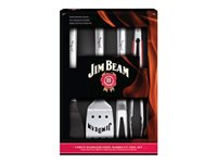 Jim Beam 5 Piece Stainless Steel Barbecue Tool Set - Besteck
