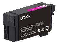 Epson T41P - 350 ml - High Capacity - magenta - original - blister with RF/acoustic alarm - ink cartridge - for SureColor T3470, T5470, T5470M