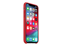 Apple iPhone Xs Silicone Case - RED