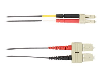 Black Box patch cable - 10 m - gray