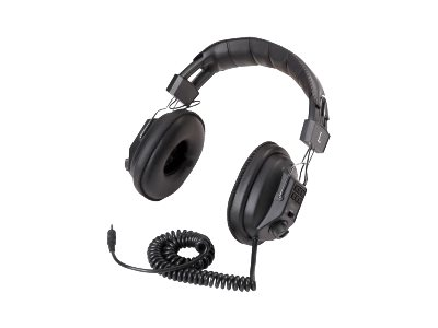 AVID AE-808USB Headphones full size wired USB black