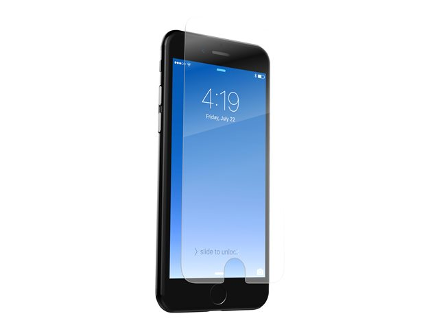 ZAGG InvisibleShield Glass+ - Protection d'écran - limpide - pour Apple iPhone 6, 6s, 7, 8