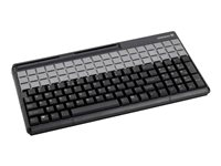 CHERRY SPOS G86-61410 Keyboard with magnetic card reader USB black