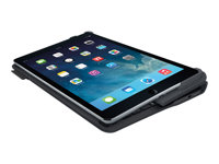 Logitech Type+ - Clavier et étui - Bluetooth - France - noir de charbon - pour Apple iPad Air 2