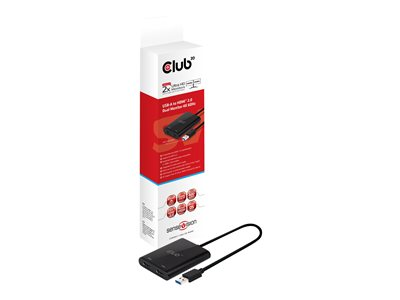 Club 3D USB to HDMI 2.0 Dual Monitor 4K 60Hz
