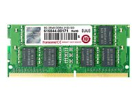Transcend - DDR4 - module - 4 GB - SO-DIMM 260-pin - 2400 MHz / PC4-19200 - unbuffered