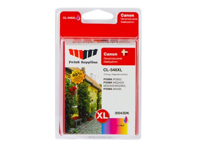 MMPS Color Inkjet Cartridge HC (CL-546XL)
