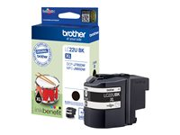 Brother LC-22UBK - XL - noir - originale - cartouche d'encre - pour Brother DCP-J785DW, DCP-J785DWXL, MFC-J985DW; INKvestment Work Smart MFC-J985DW
