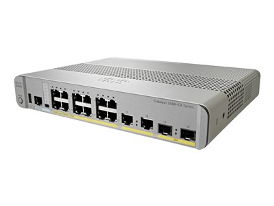Cisco Catalyst 3560CX-12PC-S - switch - 12 ports - managed - rack-mountable