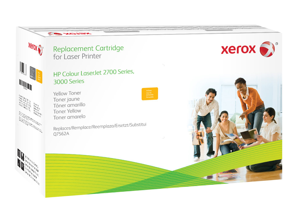 Xerox - yellow - original - toner cartridge (alternative for: HP Q7562A)