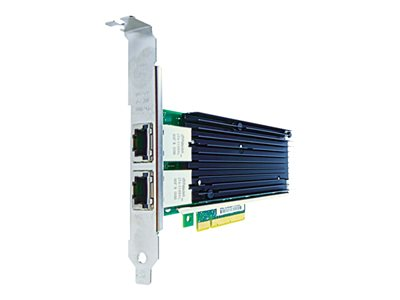 Axiom Network adapter PCIe 2.0 x8 10Gb Ethernet x 2