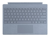 Microsoft Surface Pro Signature Type Cover - Keyboard - with trackpad - backlit - US - ice blue - commercial - for Surface Pro 7