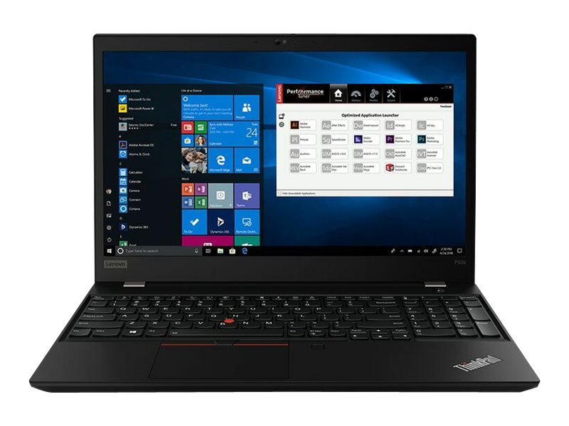"Lenovo ThinkPad P53s - 15.6"" - Core i7 8565U - 16 GB RAM - 512 GB SSD - US"