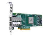 HPE StoreFabric SN1100Q 16Gb Dual Port - Host bus adapter - PCIe 3.0 low profile - 16Gb Fibre Channel x 2 - for SimpliVity 325 Gen10 Node, 380 Gen10 Node