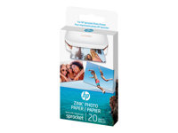 HP ZINK Sticky-Backed Photo Paper Self-adhesive gloss finish 2 in x 3 in 290 g/m²