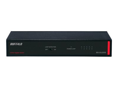Image of BUFFALO BS-GU Series BS-GU2005 - switch - 5 ports - unmanaged