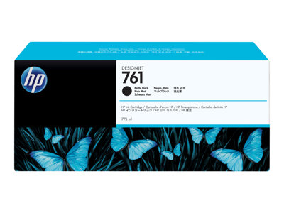 HP 761 775 ml High Capacity matte black original DesignJet ink cartridge