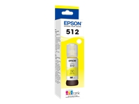Epson 512 With Sensor - Yellow - original - ink tank - for EcoTank ET-7700, ET-7750; Expression Premium ET-7700, ET-7750