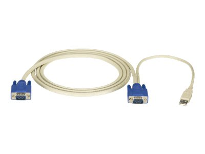 Black Box ServSwitch Server Cable - keyboard / video / mouse (KVM) cable - 4.5 m