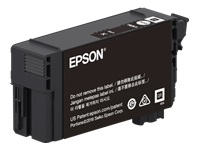 Epson T41P - 350 ml - High Capacity - black - original - blister with RF/acoustic alarm - ink cartridge - for SureColor T3470, T5470, T5470M