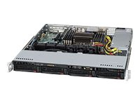 Supermicro SuperServer 5017R-MTF Server rack-mountable 1U 1-way RAM 0 MB SATA