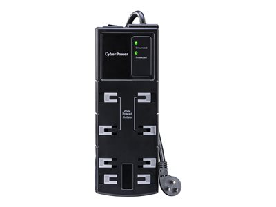 CyberPower Essential CSB806 - Surge protector - AC 125 V - output connectors: 8