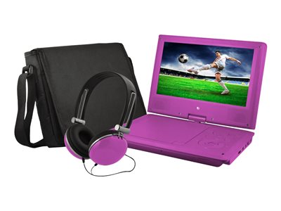 Ematic EPD909 DVD player portable display: 9INCH purple