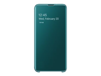 Samsung Clear View Cover EF-ZG970 - lommebok for Samsung Galaxy S10e