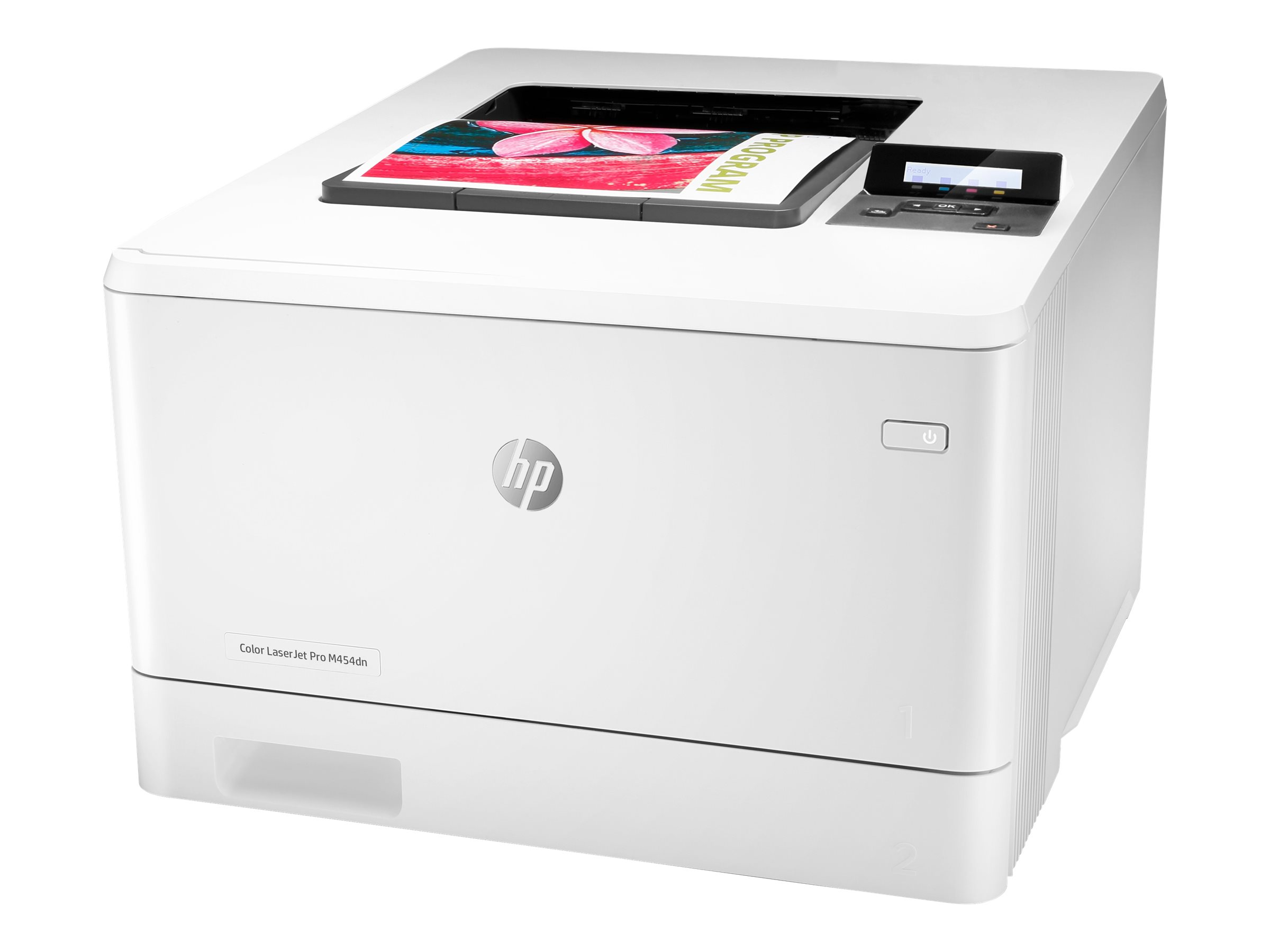 HP Color LaserJet Pro M454dn - printer - color - laser