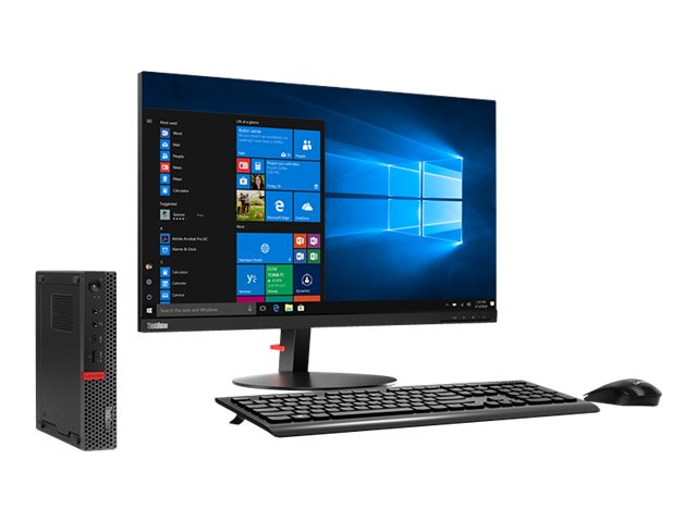 Lenovo ThinkCentre M920q - tiny - Core i7 8700T 2.4 GHz - 8 GB - 1 TB - US
