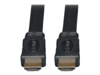 Tripp Lite 10ft High Speed HDMI Cable Digital Video with Audio Flat Shielded 4K x 2K M/M 10'