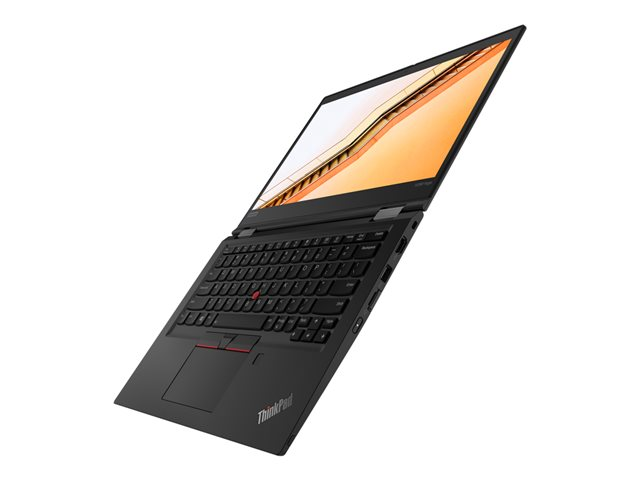 "Lenovo ThinkPad X390 Yoga 20NN - Conception inclinable - Core i7 8565U / 1.8 GHz - Win 10 Pro 64 bits - 16 Go RAM - 512 Go SSD TCG Opal Encryption 2, NVMe - 13.3"" IPS écran tactile 1920 x 1080 (Full HD) - UHD Graphics 620 - Wi-Fi, Bluetooth - 4G - noir - clavier : Français"