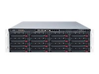 Supermicro SuperStorage Server 6038R-E1CR16H - rack-uitvoering - zonder CPU - 0 MB - 0 GB