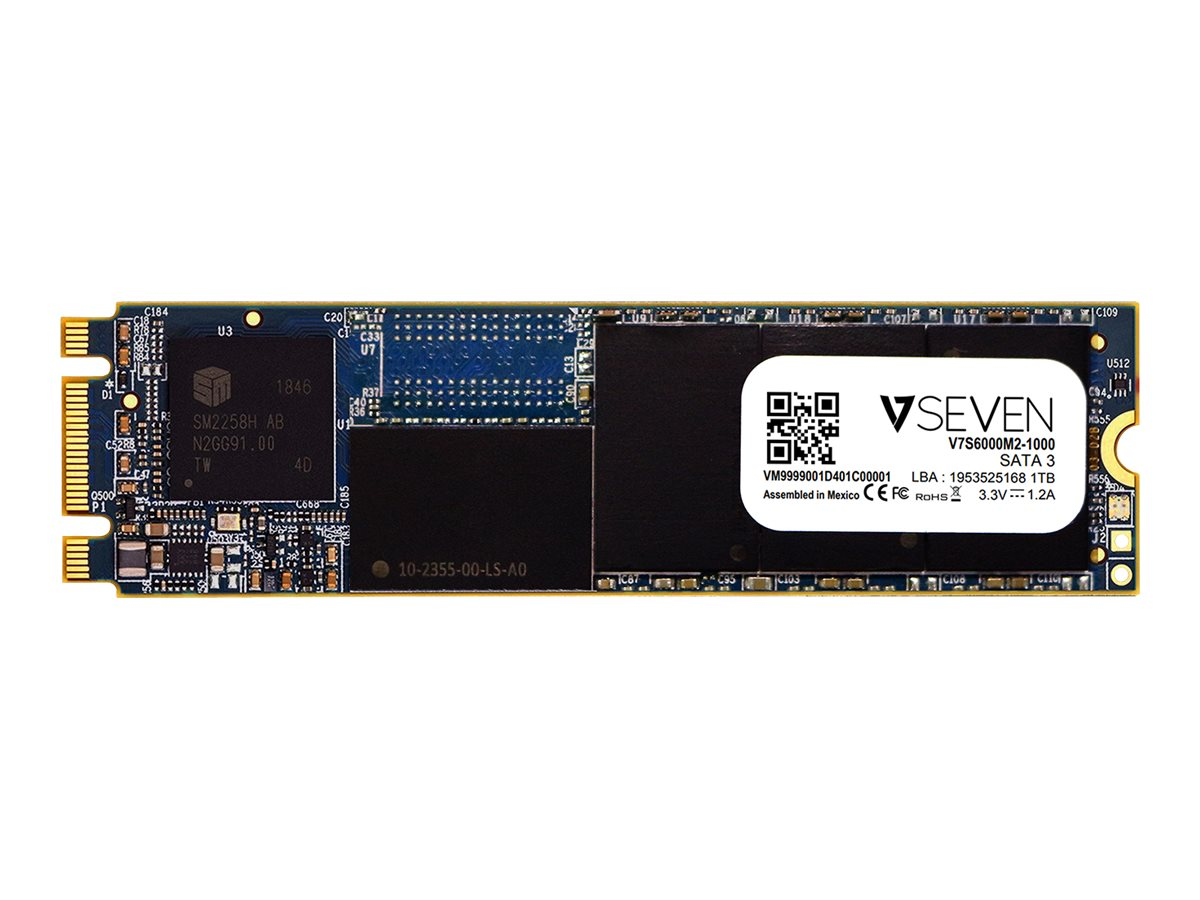 V7 S6000 - solid state drive - 1 TB - SATA 6Gb/s
