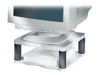 """Fellowes Monitor Riser Premium - Stand for Monitor - graphite, platinum - screen size: up to 21"""""""