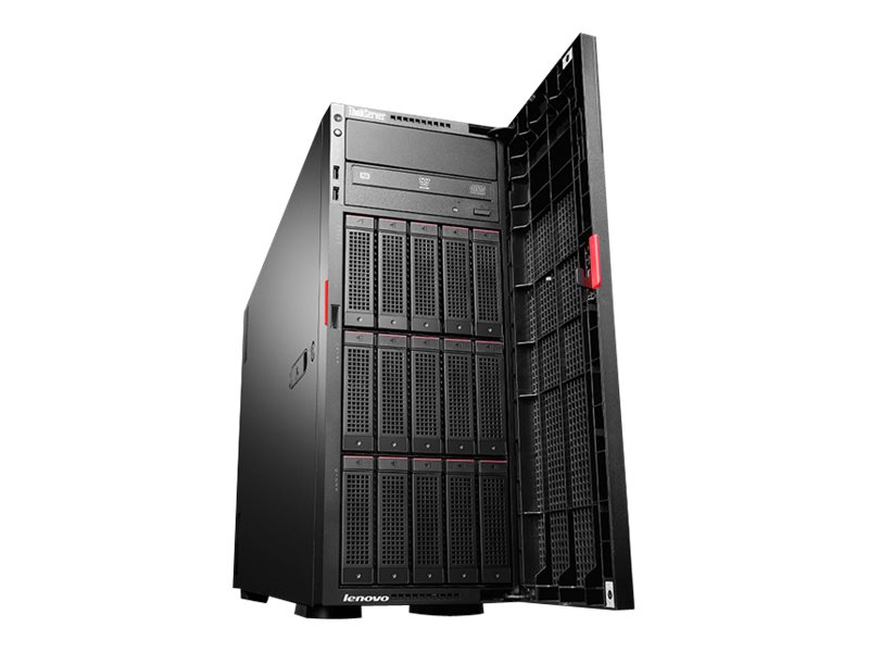 Lenovo ThinkServer TD350 70DJ - Server - Tower - 4U - zweiweg - 1 x Xeon E5-2603V4 / 1.7 GHz
