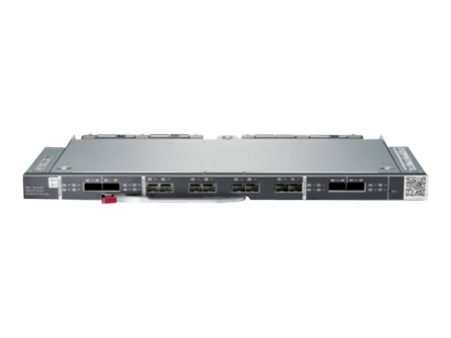 Brocade 16Gb/12 SAN Switch Module for HPE Synergy - Switch - managed - 8 x 16Gb Fibre Channel SFP+ + 4 x 16Gb Fibre Channel QSFP - Plugin-Modul